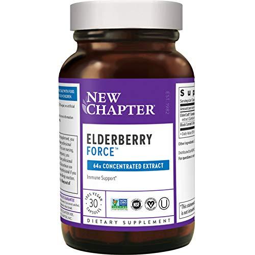 Elderberry Force, Black Elderberry and Blackcurrant
