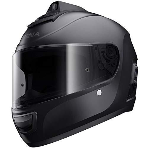 Sena Momentum Pro Bluetooth w/Integrated QHD Camera Helmet - Matte Black - XXL