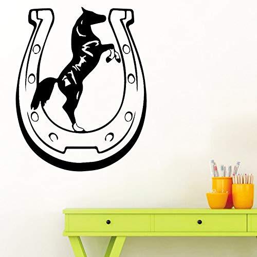 wopiaol been muursticker thema Muursticker Mooi paard Gepersonaliseerde babykamer Sti XL 58 cm X 72 cm