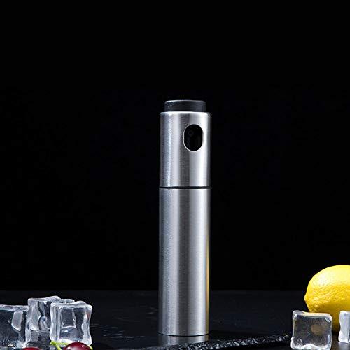 DishyKooker Pump-Sprühflasche, feiner Nebel, Edelstahl, Wein, Cocktail, Bitterer, Flammensprühflasche, Barzubehör, Haushaltsartikel