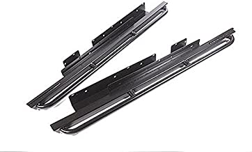 Terrafirma TF809 Steel Rock Sliders with Tree Bar Side Steps for Land Rover Discovery 2