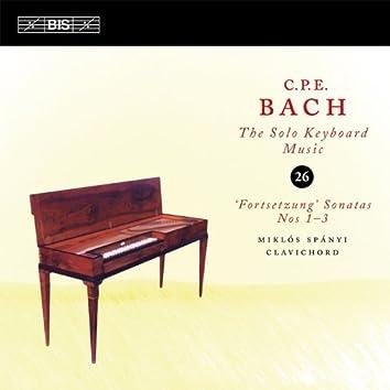 C.P.E. Bach: Solo Keyboard Music, Vol. 26