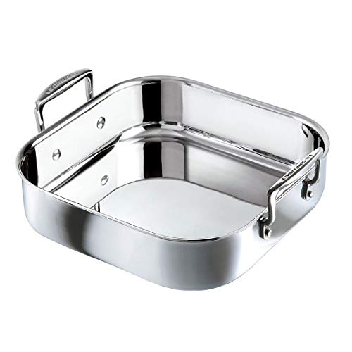 Le Creuset 96106026000000 Dish_Roaster, Stainless Steel