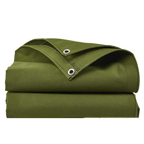 GHHZZQ A Prueba De Viento Impermeable Tela Impermeable con Ojales Metálicos por Muelle Granja Hogar, 0,9 Mm De Espesor (Color : Green, Size : 2x2m)