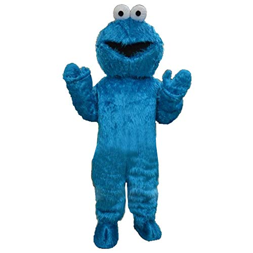 rushopn Sesame Street Super Grover Monster Mascot Costumes Adult Olaf Mascot elmo Costume