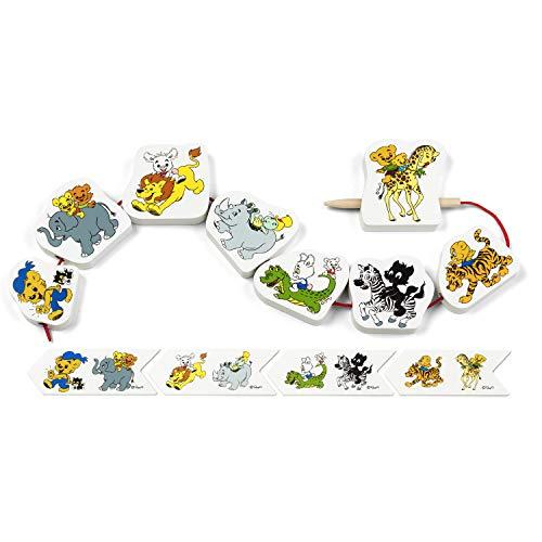 BAMSE 64-0029-00 Rompecabezas de Animales, Multicolor