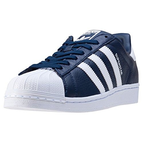 adidas Originals Superstar Schuhe Sneaker Turnschuhe Blau BB2239, Größenauswahl:42