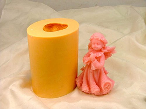 LC Engel N195 Craft Art Silikon Seife Form Craft DIY, Seifengießform Kerze handgefertigt