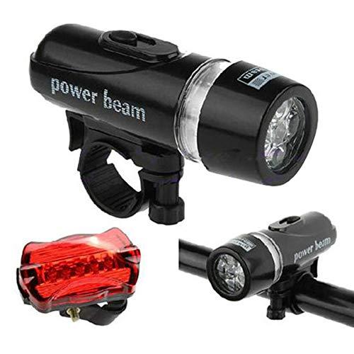 Gowind6 - Juego de 5 luces LED para bicicleta de montaña