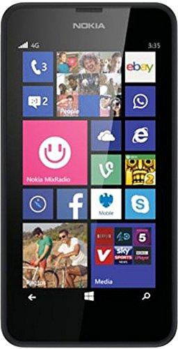Nokia Lumia 635 Smartphone (11,43 cm (4,5 Zoll) Display, Win 8.1) schwarz