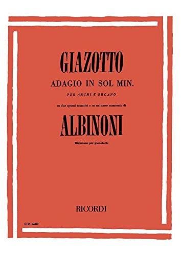 Adagio sol min. - Piano