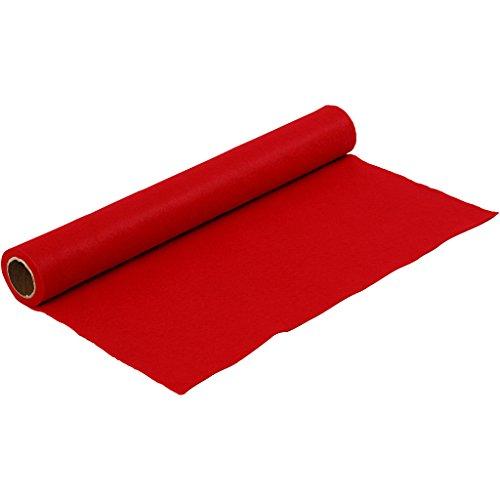 Creativ Company Feltro da 45cm, Rosso