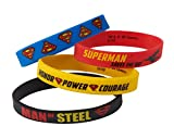 American Greetings Superman Party Supplies, Rubber Bracelets (4-Count)