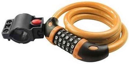 Gerolde veilige resetteerbare combinatie fiets kabelslot met montagebeugel