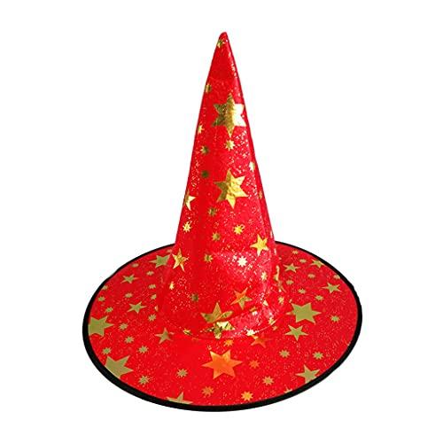 XuHangFF - Sombrero de bruja bronceadora para Halloween, disfraz de disfraz de disfraz