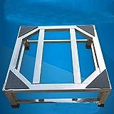 ZYDSD Lavado elevación de Acero Inoxidable Máquina Plataforma Desinfección del gabinete Soporte Frigorífico Soporte del trípode Soporte de la Base del refrigerador Soporte (Size : 50×50×15cm)