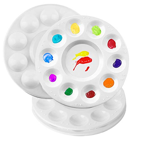 Mischpalette, Farbpaletten, Malpalette Ölfarben Zur Aufbewahrung Und Zum Mischen Von Farben (4 Stück)