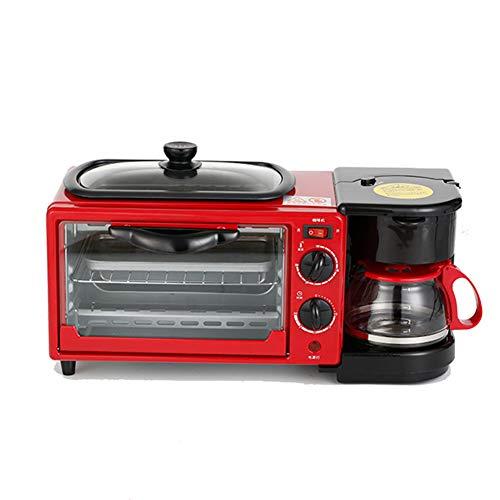 Myfei 3-in-1 ontbijtfamilie, koffie, plaat, broodrooster
