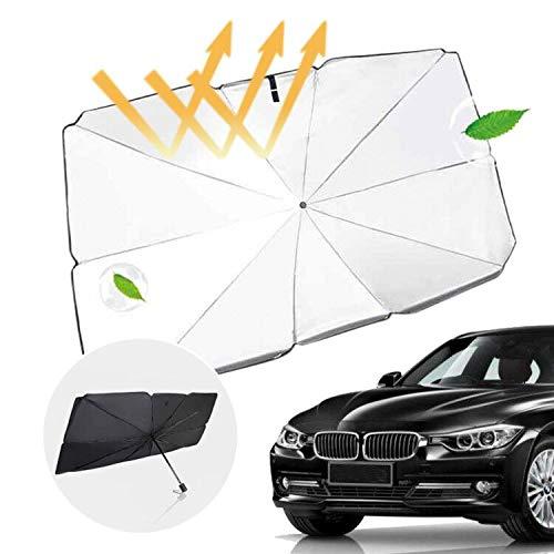 MingYuHui Auto Front Windschutzscheibe Sonnenschutz Vorhang versenkbaren wärmeisolierenden Sonnenschutz Regenschirm UV-Strahlen und wärmeisolierenden Sonnenschutz 2020 neuen GM Regenschirm (S)