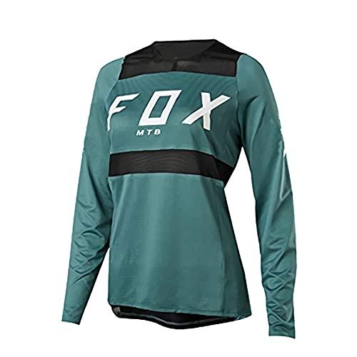 Fahrrad-Fahrradbekleidung für Männer,Rennradbekleidung für Männer,Frauen Downhill Trikots Fox MTB Mountainbike MTB Kleidung Offroad Dh Motorrad Trikot Motocross Fxr Bike Tops Fahrradhemd XL