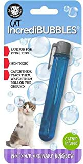 Pet Qwerks Incredibubbles for Cats & Dogs - Long Lasting Bubbles with Non-Toxic Formula, Avoids Boredom & Keeps Pets Active | Best for Outdoor Use