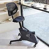 FLEXISPOT Chaise de Vélo de Bureau Sit2Go Station de Travail à Domicile Bureau d'exercice Pliant Cycle de Bureau Réglable en Hauteur Vélo d'exercice Stationnaire-Deskcise Pro (Noir)