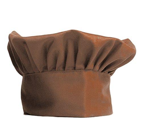 Unisex Chef Hat Mens Women Elastic Adjustable Elastic Cooking Baker Chef Cap workhat CF9015 Coffee