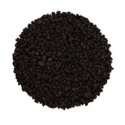 Aquariumpflanzen.net 5kg Farbkies schwarz, Körnung 2-3mm, Aquarienkies, Bodengrund
