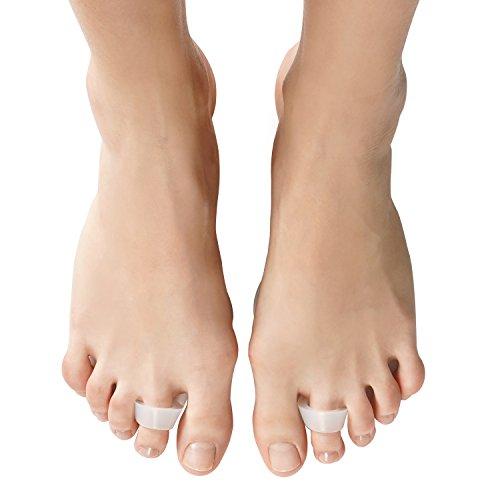 Soles Mittelfußknochen Block Hochwertiges leichtes Unisex Einheitsgröße Silikon SelfStick Fuß Kissen, Durchsichtig, 1 stück