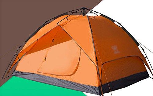 MONEYY Automatiquement de Plein air tentes 3-4 Lits superposés Doubles Portes Augmenter Camping Camping la Pluie Beaucoup de Gens 200 * 230 * 140cm,Un Travail d'équipe