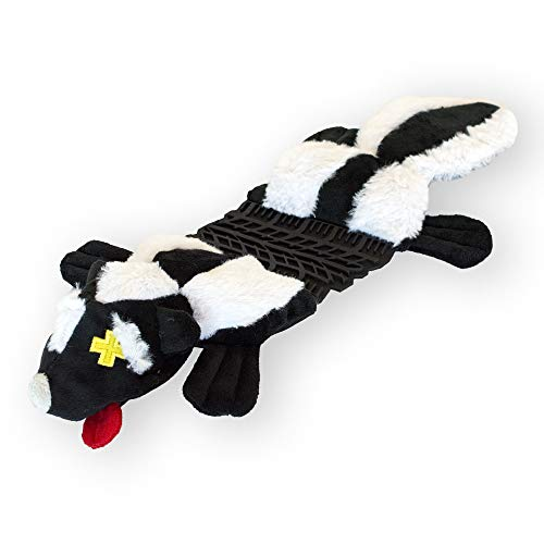 Outward Hound Invincibles Roadkillz Skunk Dog Squeaky Toy
