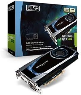 ELSA GeForce GTX 680搭載グラフィックスボード ELSA GEFORCE GTX 680 2GB (VD4623) GD680-2GERX