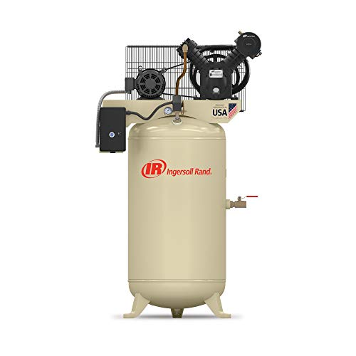 - Ingersoll Rand Type-30 Reciprocating Air Compressor - 7.5 HP,...