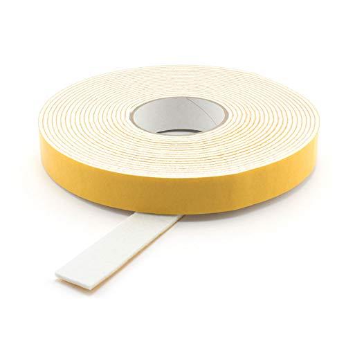 GleitGut Filzband selbstklebend Länge: 3 m auf der Rolle Filzklebeband Meterware Breite: 40 mm Filzstärke: 3 mm Weiss