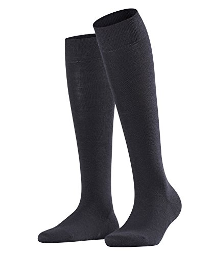 FALKE Damen Socken, Softmerino W KH-47438, Blau (Dark Navy 6379), 39-40