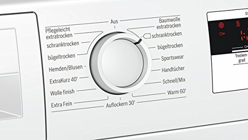 Bosch WTH83001 Serie 4 Wärmepumpentrockner / Energieeffizienz A+ / 233 kWh/Jahr / 7 kg / weiß / AutoDry / EasyClean Filter - 2