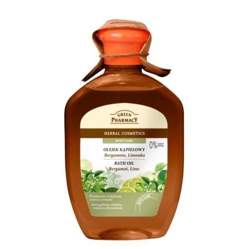 Green Pharmacy Huile de Bain 2 en 1 Mousse de Bain BERGAMOT Sans Paraben 250 ml