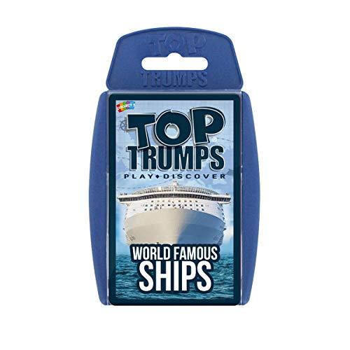 Weltberühmtes Schiffs-Kartenspiel Top Trumps