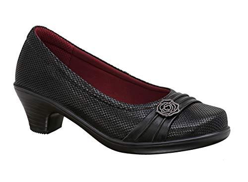 Orthofeet Comfortable 2 Inch Low Heels Bunions Heel Pain Womens Pumps Dress Shoes BioHeels Maya...