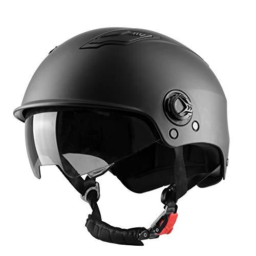 WESTT Escape Skaterhelm I Skateboard-Helm mit Sonnenvisier I Leichter Skatehelm I Fahrrad-Helm I BMX-Helm I Inliner-Helm I Skaterhelm Herren & Damen mit verstellbaren Kinnriemen I Größe XL