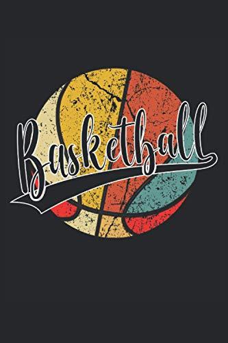 Basketball: Cuaderno de rayas cuaderno de escritura diario ToDo libro de tareas libro de cuentos  15,24 x 22,86 cm; ca. A5  120 páginas. Para los ... dunk slamdunk equipo de baloncesto.