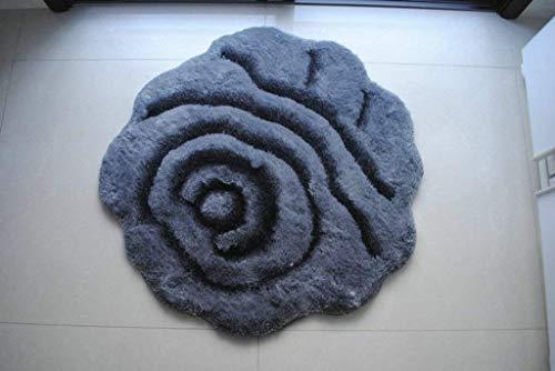 carpet Tapis de Sol 3D de Tapis de Plancher de Cuisine Salle de Bains Chambre Tapis Porte Durable Maison Tapis Quotidien Quotidien,Gris Clair