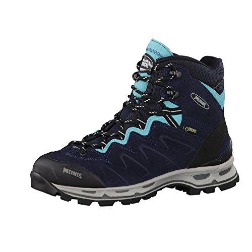 Meindl Damen Trekkingstiefel Minnesota Lady Pro GTX 3925 Nachtblau/Türkis 39.5 (UK 6)
