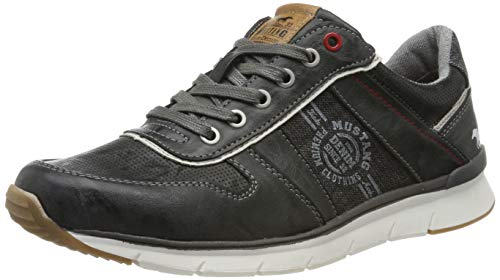 MUSTANG Shoes Halbschuhe in Übergrößen Grau 4137-302-200 große Herrenschuhe, Größe:49