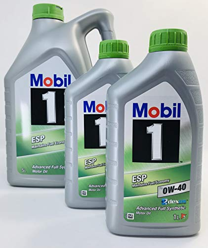Mobil 1 Motorschmieröl ESP X3 0W-40 Dexos 2, Packung 7 Liter