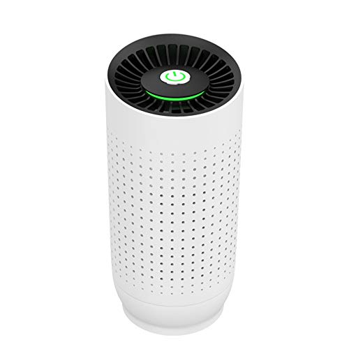 Sale!! TJSCY USB Small Air Purifier, Portable Car Sterilization and Formaldehyde Removal Filter, Suitable for Office Bathroom Kitchen