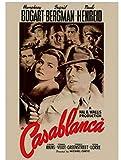 WZGJZ Leinwand Bild Film Casablanca Print Wandkunst Poster