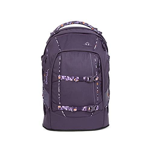 Satch pack Schulrucksack - ergonomisch, 30 Liter, Organisationstalent - Mysterios Rush - Lila SAT-SIN-001-9W5, einheitsgröße