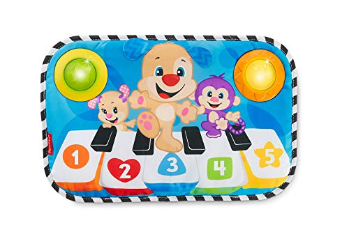 Fisher-Price FHJ41 Centre d'activité pour bébé avec lumières, Sons et Musique, Couleurs et Formes et Chiffres