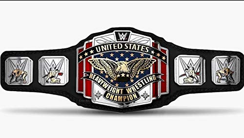 RAY'S WWF United States Heavyweight Wrestling Champion Replica Belt, Adult Size.